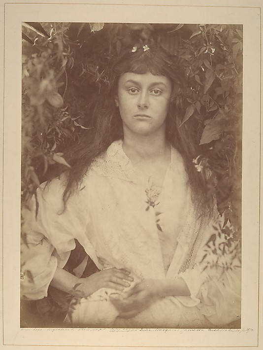 portrait of Alice Liddell