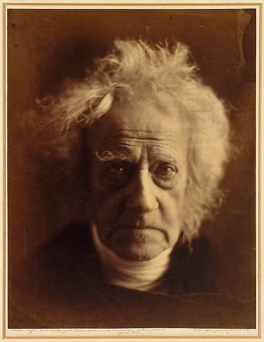 portrait of Sir John Herschel