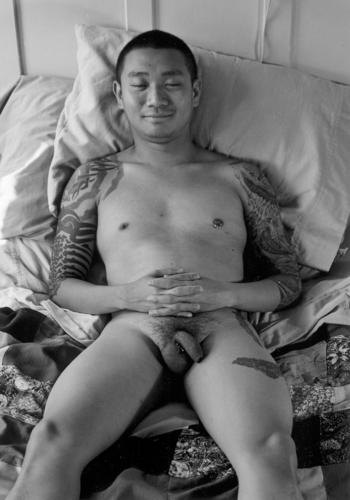 nude of Justin Chin from FAMILIAR MEN