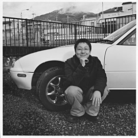 Chibikko with her car