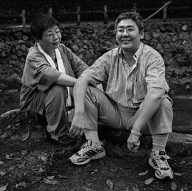 Eriko Kawamoto and Motoko Masaki